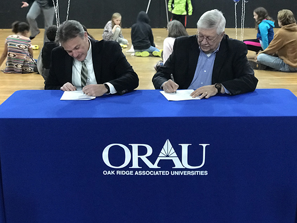 ORAU and Children's Museum of Oak Ridge join forces for K-12 STEM education programming