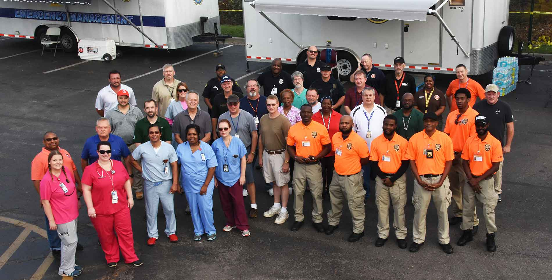 Aid to veterans after disasters: Software solution streamlines VA medical center volunteers
